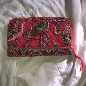 Pink Vera Bradley Wallet